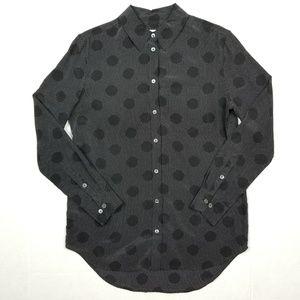 Equipment Reese Silk Button Down Shirt XS EUC
